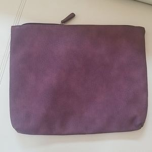 Free People large zip pouch